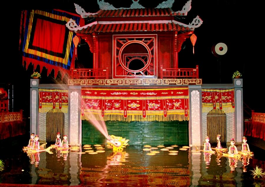 Resultado de imagem para water puppet show hanoi