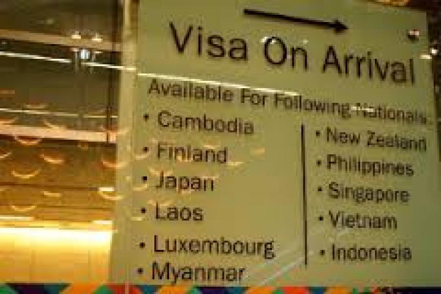 myanmar singapore visa